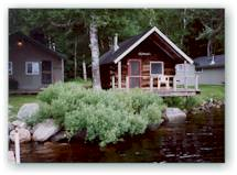 The smaller log cabins, some dating back to the 1880's, can accommodate two people.