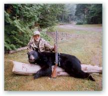 Lake Molunkus Sporting Camps is located in Aroostook County, home to Maine's largest population of black bear.