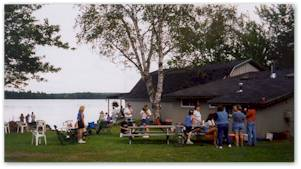At Lake Molunkus Sporting Camps we have plenty of open space for outdoor activities.