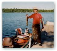 Lake Molunkus also offers salmon, brown trout, white perch, and pickerel.